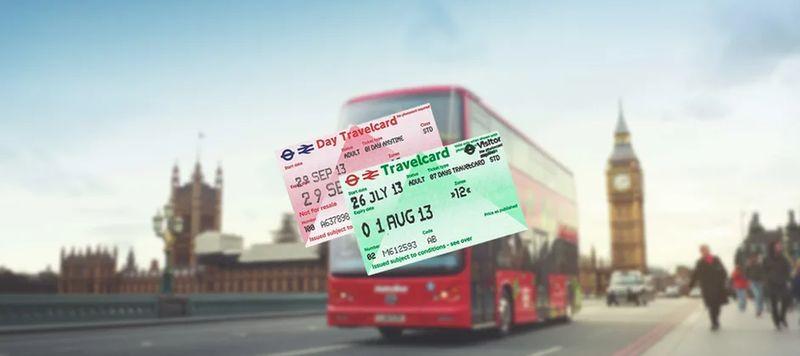 London Travel Card這是紙本實體卡。