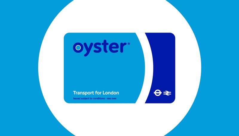 倫敦旅遊神器Oyster Card(牡蠣卡)