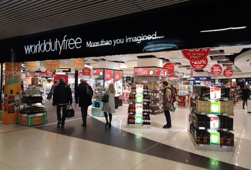 Word Duty Free at Gatwick Airport