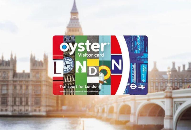 London Visitor Oyster Card遊客收藏用,比較花俏。