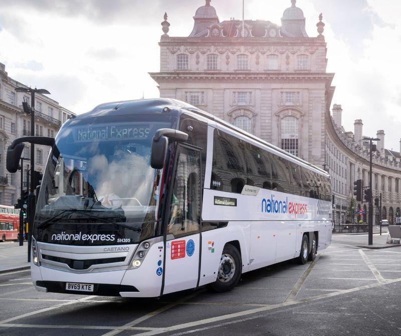 英國長途巴士(Coach)-National Express,要去劍橋、牛津也不是問題。