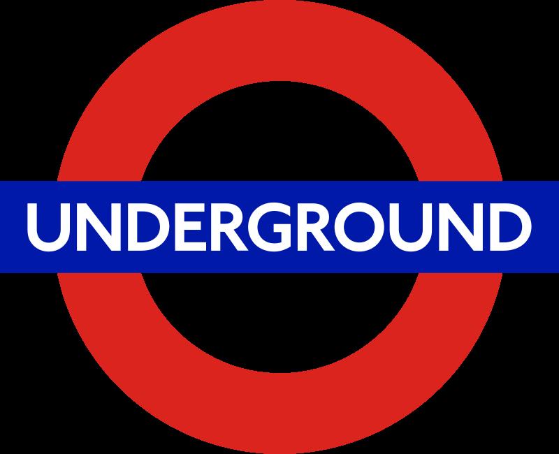 倫敦地鐵(Underground)的Logo