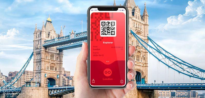 倫敦探索者通行證(London Explorer Pass),它是以「參觀景點」來計算,適合喜歡參觀特定幾個景點的你。