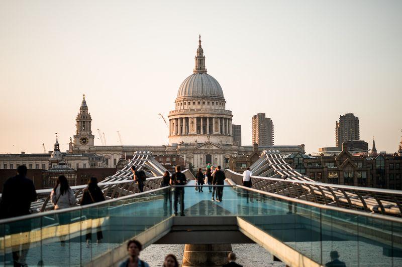英國聖保羅教堂 (St Paul's Cathedral) ,包含在London Pass通行證裡,省錢去參觀。