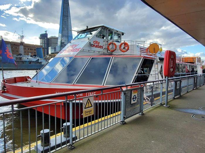 KLOOK有販售倫敦泰唔士河遊船,可以選擇午餐、下午茶或晚餐。