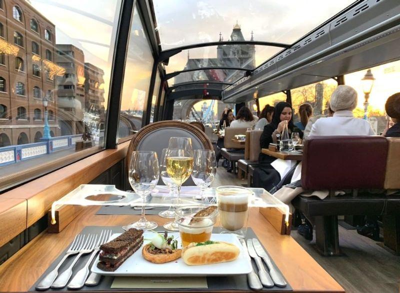 英國倫敦Bustronome豪華巴士,推薦想要不同體驗與浪漫的你。