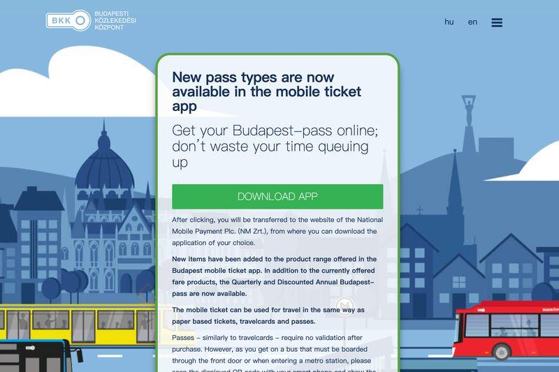 布達佩斯交通卡有App,直接掃描QR CODE就可以搭車,很方便。