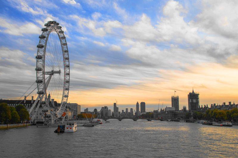 倫敦知名的倫敦眼London Eye