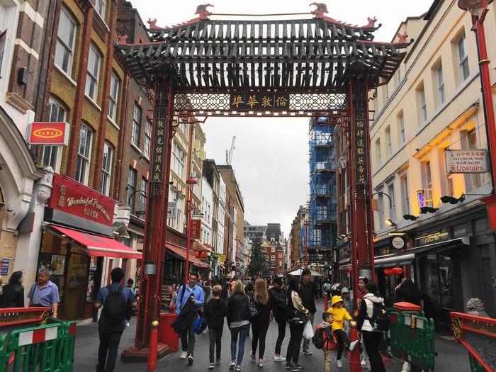 倫敦中國城ChinaTown London,街道乾淨食物算好吃,想念亞洲味道的你記得來。