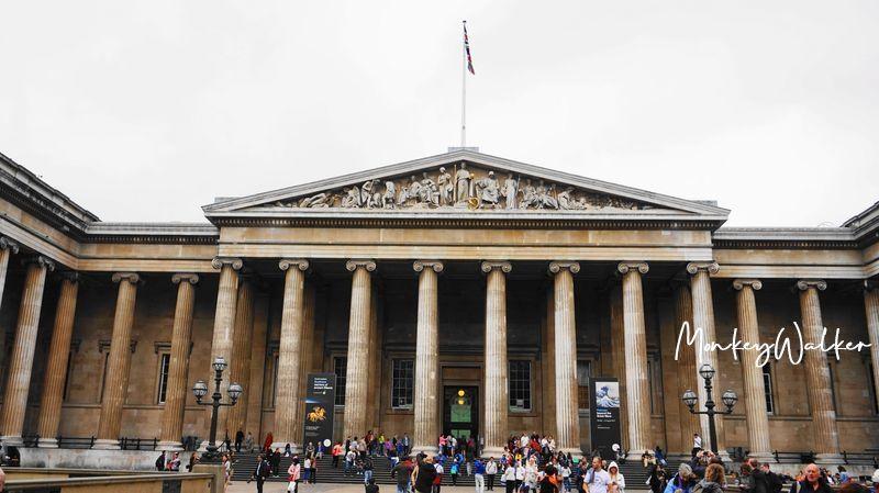 倫敦大英博物館,超佛心免費參觀珍藏,帶你走進百科全書。