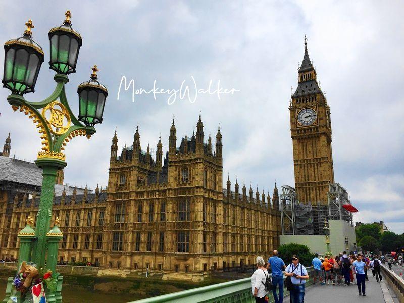 倫敦必看景點:大笨鐘與國會大廈