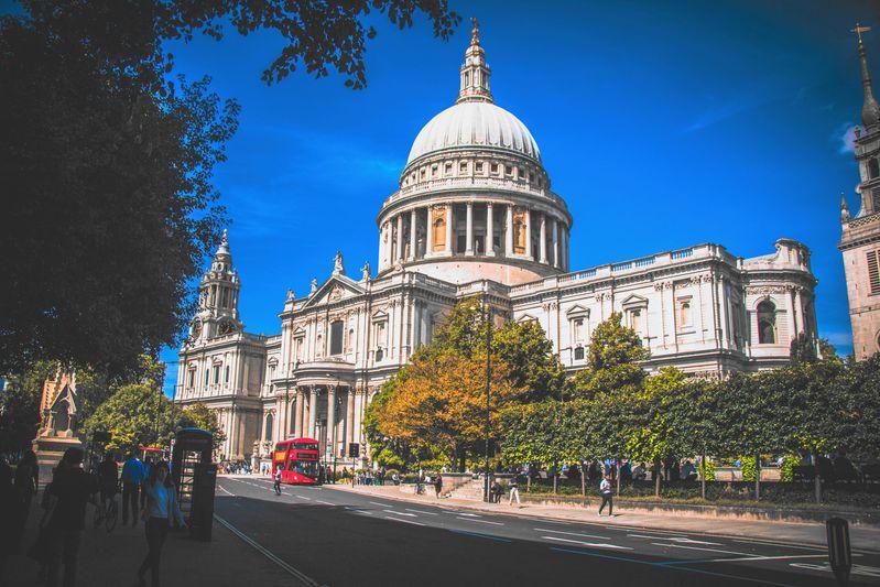 倫敦的聖保羅大教堂(St. Paul's Cathedral)