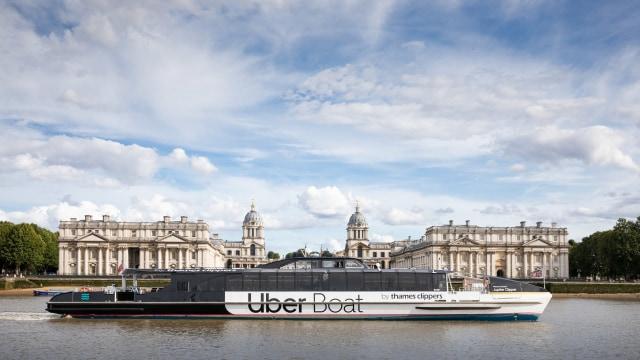 倫敦的泰晤士河遊船(Thames Clippers),用另一個視角快速飽覽市區景點。