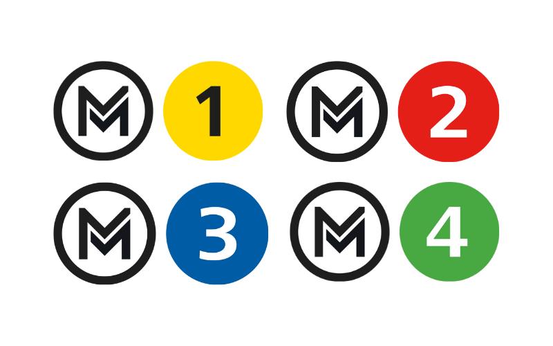 布達佩斯地鐵標誌LOGO
