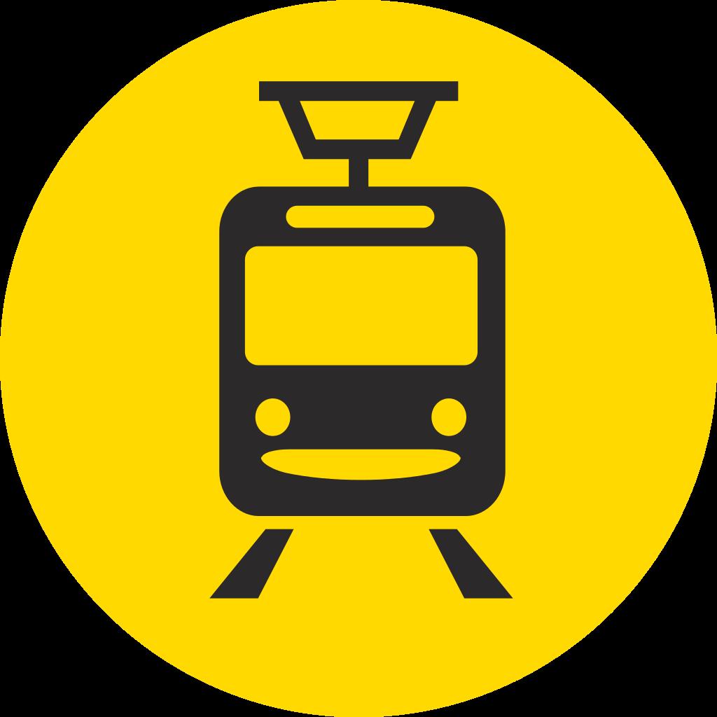 布達佩斯的輕軌Tram logo