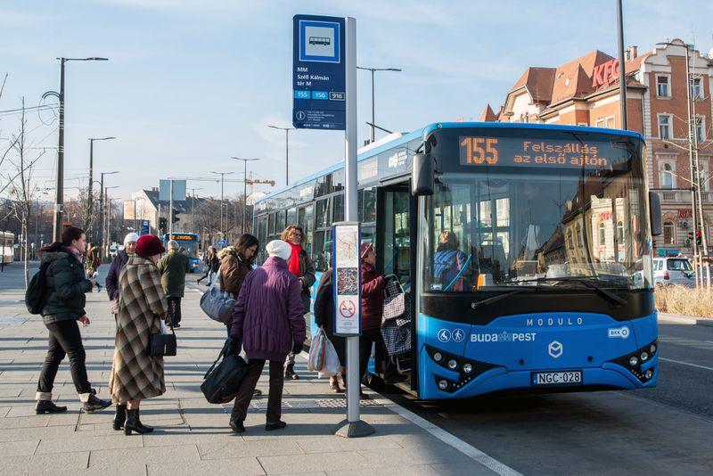 布達佩斯市區公車