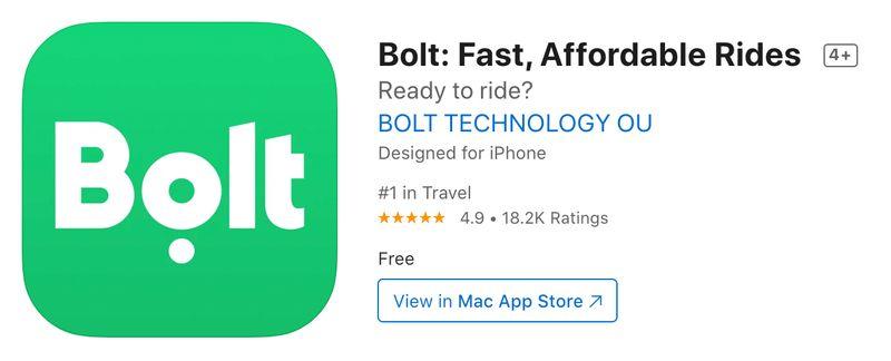布達佩斯版Uber,他們都用Bolt App叫車。
